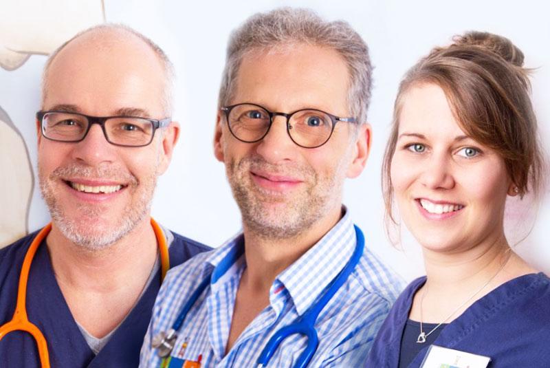 Bleck und Dau - Das team